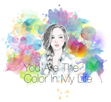 You are the color in my life by convict123