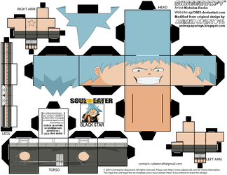 CubeeCraft SOUL EATER Black Star--Revised by njr75003