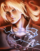 Ed Elric by Clouded-3D