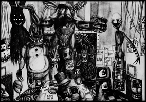 Five Nights At Freddy's by Akira-keineHoffnung