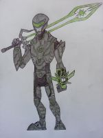 Ben 10 - Ascalon Armor and Sword by Zigwolf