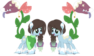 Plant Pony Auction Re-open [CLOSED] by Pikachumaster