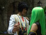 Cosplay: Lelouch and CC 3 by bloodyblue