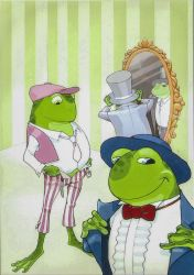 Three frogs 05 by Vanxee