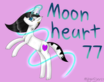 [Commission] Moonheart77 by MidNightFlyer53