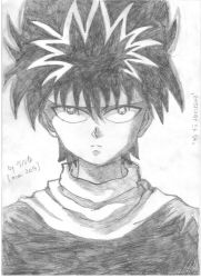 Hiei by evalia-scifilullaby