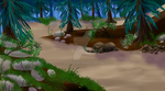 Sandy Forest by JB-Pawstep