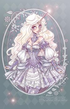Lady Amalthea by NoFlutter