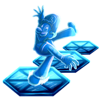 Ice Luigi by MudSaw