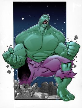 Hulk Color by TheAdrianNelson