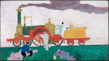 Feininger Painting by PRR8157