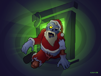 X-mas Zombie style by stampede