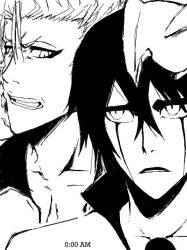 Ulquiorra and Grimmjow by 0-AM