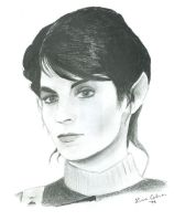 Saavik from Star Trek by LMColver