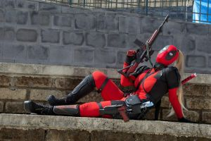 My Lady Deadpool Cosplay by HiMafalda