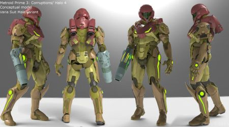 MP3: C/ Halo 4 Cross over - Varia Suit by Dutch02