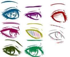 Homestuck Eyes Thingy.... by ConcealedIdiot