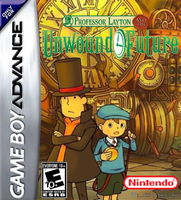 Prof. Layton and the Unwound Future GBA Boxart by Dollarluigi