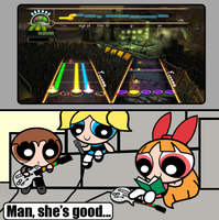 Blossom is the Guitar Hero by Death-Driver-5000