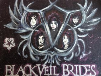 Black Veil Brides Commission by MabMeddowsMercury