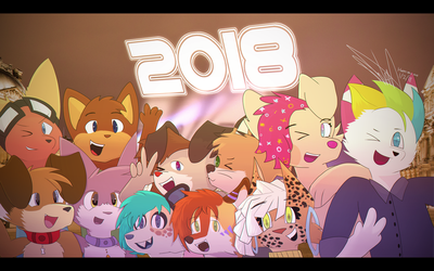 New Years 2018 by novacide