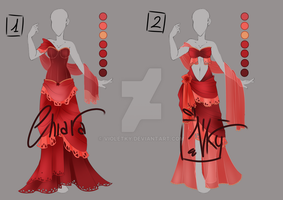 :: Adoptable Red Rose: AUCTION CLOSED :: by VioletKy