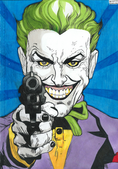 The Joker in The Man Who Laughs by homisike