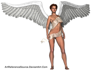 Stock:  Majestic Angel PNG by ArtReferenceSource