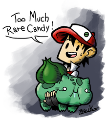Too Much Rare Candy! by SirBruks