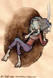 WTNV: The Faceless Old Woman by kineticnovels