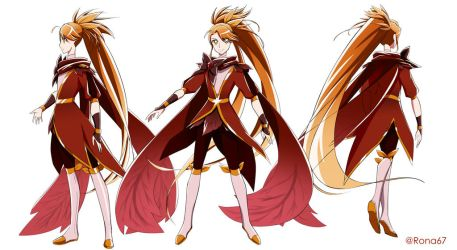 Cure Autumn concept art by Rona67