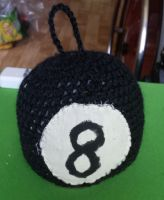 Eightball Plushie by spebele