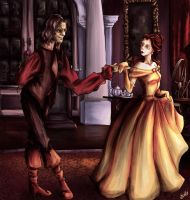 Rumbelle - May I... by Sakyora
