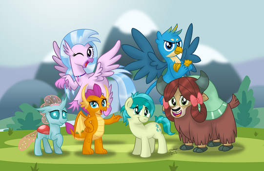 The Student Six (print) by AleximusPrime