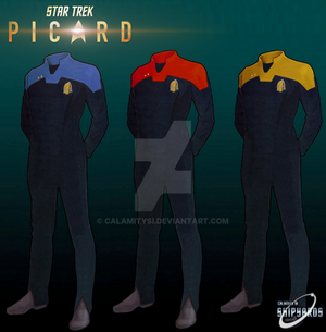 Star Trek Picard Uniforms