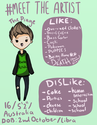 #meettheartist The Piage by ThePiage