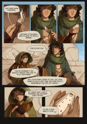 The Hollow Mask: Ch. 1 Page 9 by morteraphan