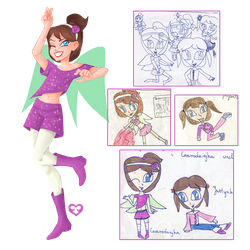 Mix Club redesigns: Justynka by Annorelka