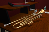 The Trumpeter's Desk