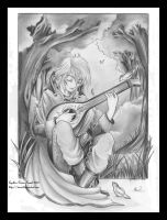 Melody from the forest by Tanael
