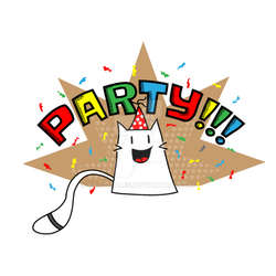 Party-cat by Kats-Tales