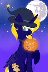 Halloween Time (with candy bag) by Th3BlueRose