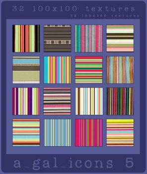 a_gal_icons - Retro Striped by aotearoagal