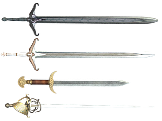 Sword PNG Stock by Roy3D