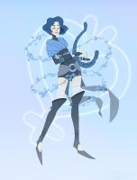 Sailor Mercury: The Bard by emengel