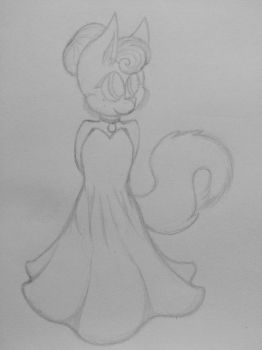 Just a fox in a dress. by Nikkychan-72