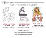 Commission Price list by Pastranas-Art