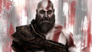 Kratos - God of War by RowenHebing