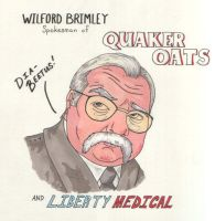 Wilford Brimley for Crew by angelacapel