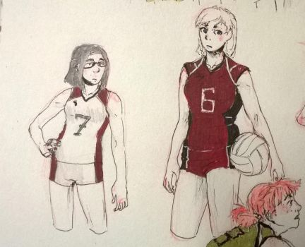 Also Volley Girls by Portmanteal